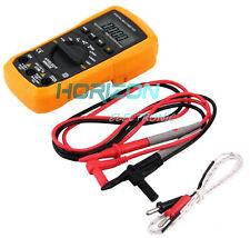 Digital MS8233E Multimeter LCD AC/DC Ammeter Resistance Capacitance Tester