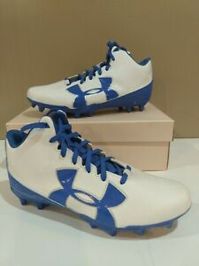 Under Armour Boys UA Fierce Phantom Mid MC Jr Football Cleats Size 5.5Y