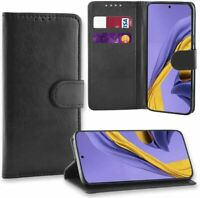 Case For Samsung Galaxy A71 A51 A41 Leather Cover Wallet Card Folio Flip Stand