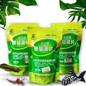 Fish Food Spirulina Catfish Tropical Veggie Algae Wafers Biomass C5A2 Q1U0