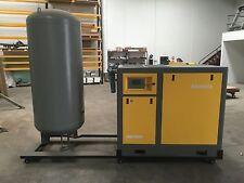 Sand Blasting Setup 50hp Screw Compressor Inverter, Sand / Media Blaster Hooper