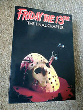 FRIDAY THE 13TH THE FINAL CHAPTER FIGURE NECA REEL TOYS NEW ! JASON VOORHEES