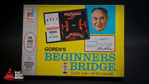 Débutants Pont 1965 Milton Bradley Board Jeu Rapide