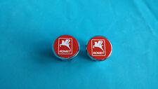 Romet Handlebar End Plugs Bar Caps lenkerstopfen vintage Red Polish Poland