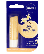 NEW NIVEA Vanilla Buttercream 4.8g, Lip Balm, Shea Butter and Vanilla Scent