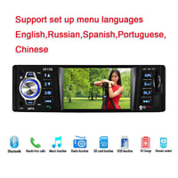 Auto Car Stereo HD TFT Screen Auto Radio with Bluetooth Handsfree Call USB TF