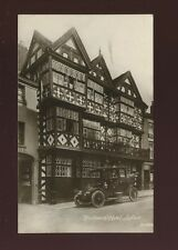 Shropshire Salop LUDLOW Feather's Hotel + nice early car c1900/10s? RP PPC
