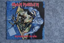 Iron Maiden - No Prayer for the Dying CD Album signed / autograph / signiert
