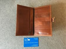 Leather Wallet Purse CWWZA Handmade Buffalo Zip Passport YKK Billy Goat Designs