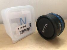 NOVOFLEX Adapter Nikon F to Sony E (NEX) mount