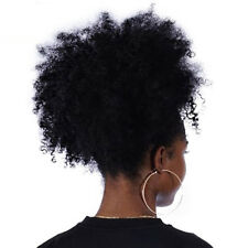 Afro Kinky Curly Ponytail For Women Afro Puff Drawstring Ponytail Extensions