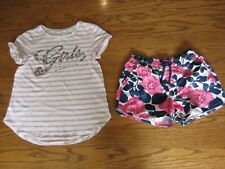 Gap Girls T-Short Size XXL (14-16) and Shorts Size XL (12)