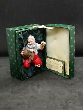 Vintage Starry Eyed Hallmark Ornaments by Donna Lee in Original Display Cases