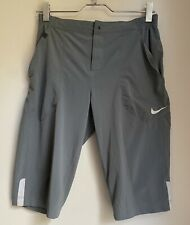 GREY LONG SHORTS NIKE M MENS SUMMER SPORT GOLF FOOTBALL GYM TOWIE RUNNING TRAIN