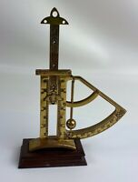 Franklin Mint Great Instruments of Discovery Gunner's Level with Stand