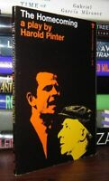 Pinter, Harold THE HOMECOMING  1st Edition Thus 1st Printing