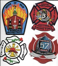 4 Set # 244   fire patch New Fire Patches