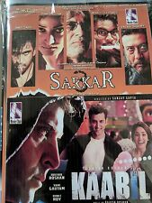 DVD Kaabil  & Sarkar 3 Hindi Movie 2 In 1 Hindi movie