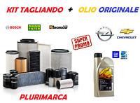 KIT TAGLIANDO COMPLETO FILTRI OLIO ORIGINALE GM OPEL ASTRA K 1.6 CDTI