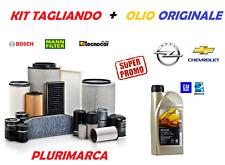 KIT TAGLIANDO COMPLETO FILTRI OLIO ORIGINALE GM CHEVROLET CAPTIVA 2.0 CDTI