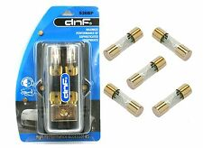 DNF AGU FUSE HOLDER  1-HOLE IN 4AWG & 2-HOLE OUT 8AWG  + 5 PACK AGU 80 AMP FUSES