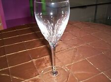 Firelight clear wine crystal stems by Lenox
