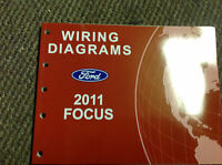 2011 Ford FOCUS Electrical Wiring Diagrams Service Shop Repair Manual 2011 EWD