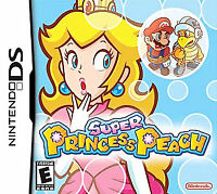Super Princess Peach (Nintendo DS, 2006) GAME ONLY TESTED AND WORKING USA SELLER