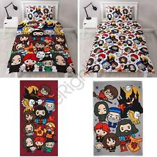 Harry Potter Charm Bedroom - Duvet Cover Set Single or Double, Blanket, Towel