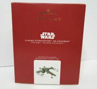 2020 Hallmark Keepsake Ornament Star Wars X-Wing Starfighter on Dagobah NIB