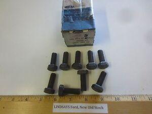 """9 PCS FORD 1971/77 CAPRI (IMPORT) 4CYL 122CID """"BOLT"""" (SPROCKET TO CAMSHAFT) M10"""