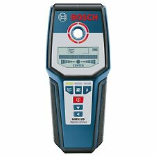 BOSCH GMS120 Digital multi-materiale Montante/metallo/Filo detector Finder + ASTUCCIO * NUOVO *