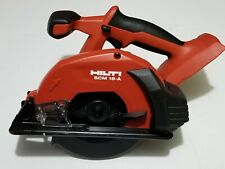 Hilti Scm 18 A Metal Cutting Cordless Saw Tool With Blade New