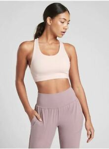 Athleta NWT Women's Ultimate Bra D-DD Size Large Color Orchid Pink
