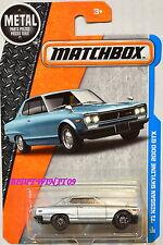 MATCHBOX 2016 '71 NISSAN SKYLINE 2000 GTX SILVER CUSTOM MADE