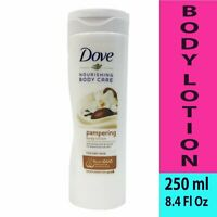 Dove Nourishing Body Care Pampering Body Lotion For Dry Skin, 250 ml (8.4 Oz)