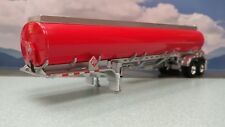 dcp/fg red/silver closed tandem axle fuel tank trailer new no box #2