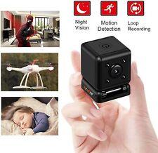 Mini Spy Camera 1080P Hidden Camera, Small Spy Camera Cube Cop Cam for Indoor Ou