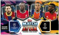 Match Attax 2020/21 Champions League- Complete set in binder with 5 Limited Ed