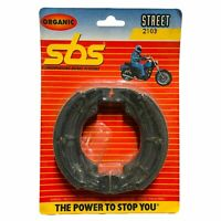 TSW 50 1991 SBS Front Brake Shoes Genuine OE Quality 2103