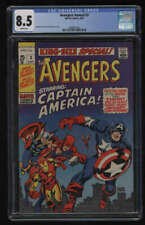 Avengers Annual #3 CGC 8.5 White Pages King-Size Special Marvel 1969