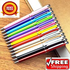 10 x PRO STYLUS WITH BALL POINT PEN TIP FOR IPHONE  IPAD,TABLET # 23