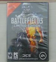 New Battlefield 3 Limited Edition Pc Game Dvd-rom Software 2011