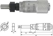 Einbaumessschraube 0-6,5 mm mit Spannmutter, ballig, 10-000-065-100-SB