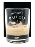 Personalised Baileys Glass Tumbler Gift 18th/21st/30th/40th/50th Birthday/Nan
