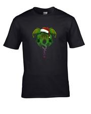 Cthulhu's Bad Tidings- HP Christmas- Men's T-Shirt