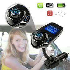 Transmisor FM bluetooth kit de coche radio reproductor de MP3 USB Cargador Inalámbrico Manos Libres