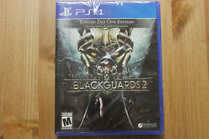 Blackguards 2 Day One Edition Sony Playstation 4 Brand New Factory Y-Sealed