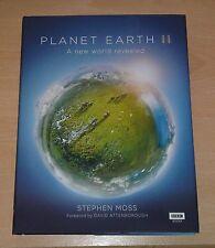 Sir David Attenborough Signed Panet Earth II hardback 1st edition 1st print UK