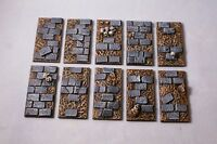Scenic cavalry resin bases Sci-fi wargames fantasy X5 by Daemonscape
